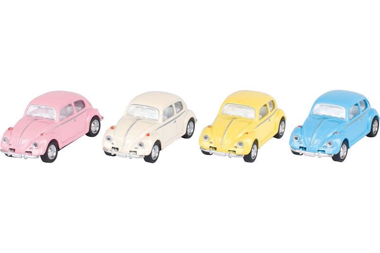 Liten VW bubbla i pasteller