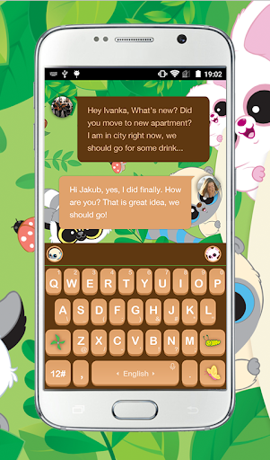 Yoohoo Friends Keyboard Theme