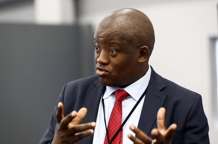 Former Treasury director-general Lungisa Fuzile testifies at the state capture inquiry on Monday February 18.