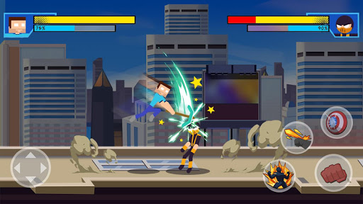 Stick Super: Hero screenshot 4