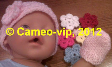Photo: №Б12. 60грн. Шапочка с цветком и рукавички Baby Born 43 cм