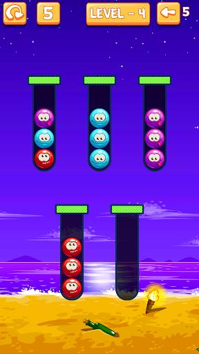 Emoji Sort: Color Puzzle Game screenshot 8