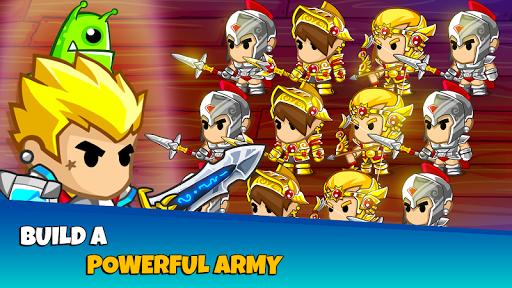 Pocket Army: Royale Knight Crusher  captures d'écran 1