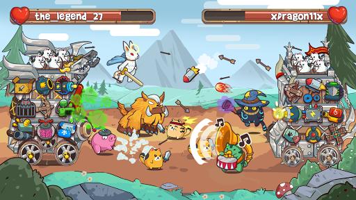 Cat'n'Robot: Idle Defense - Cute Castle TD PVP screenshots 6
