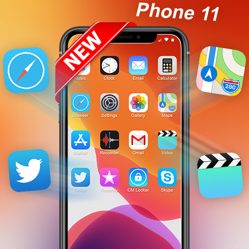 Ilauncher Phone 11 Max Pro Os 13 Theme Wallpaper