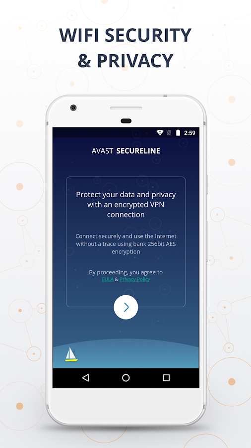 VPN SecureLine by Avast - Unlimited Security Proxy- screenshot