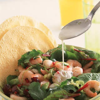 Chili Lime Tiger Shrimp Salad.