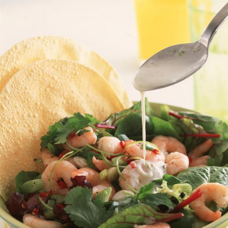 Chili Lime Tiger Shrimp Salad