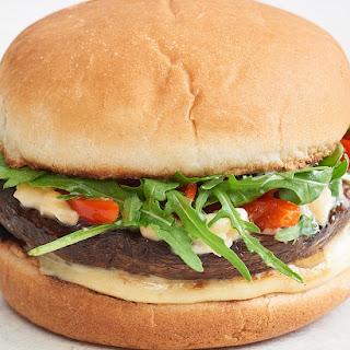 Smoky Portobello Mushroom Cheeseburgers Recipe
