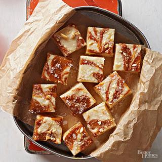Salted Caramel Fudge.