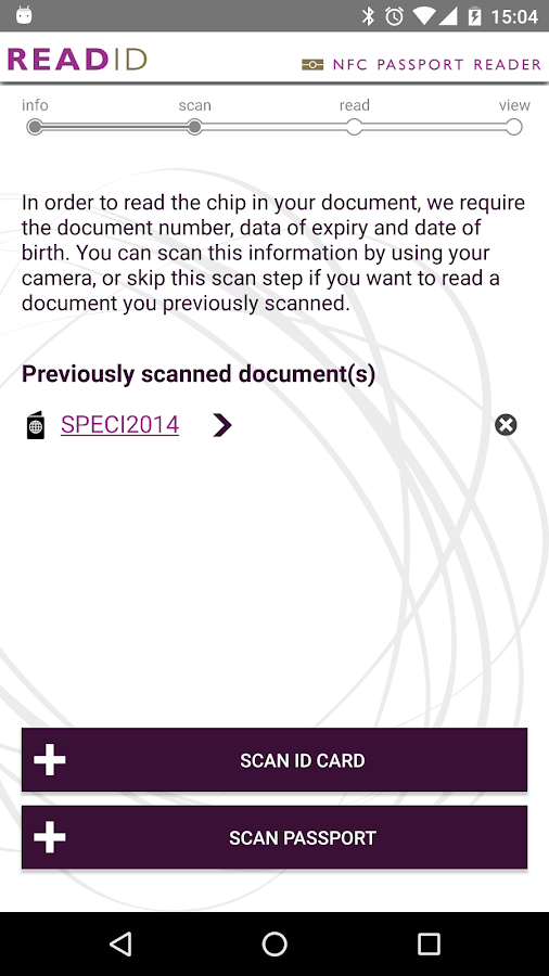 ReadID - NFC Passport Reader- screenshot