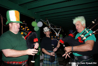 Photo: Clear Lake Caledonian Pipe Band! www.clcpb.com. Brian Berlin from Kemah on the left play @ Mollys Pub in Kemah for St. Patrics Day!
