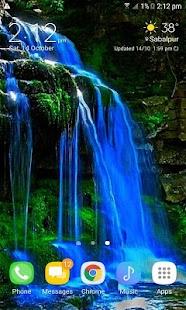 Blue Fall Magic LWP - náhled