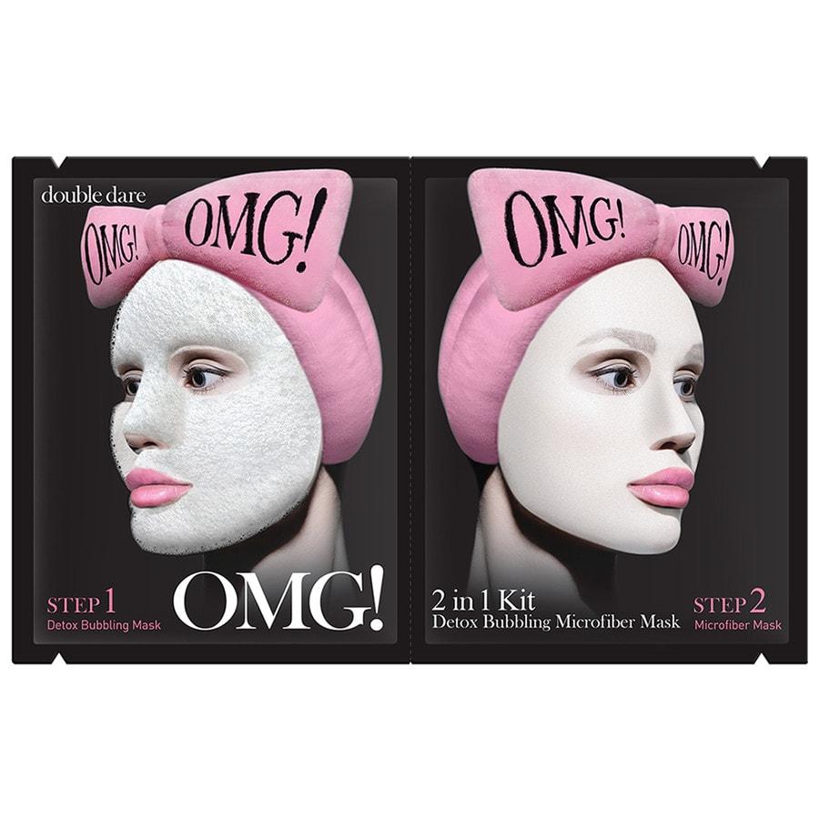 Recenze Riano: Bublinková maska OMG! od Double Dare 2 v 1