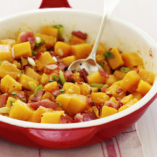 Butternut Squash with Bacon