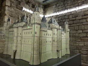 Photo: The original walls of the Louvre fortress
