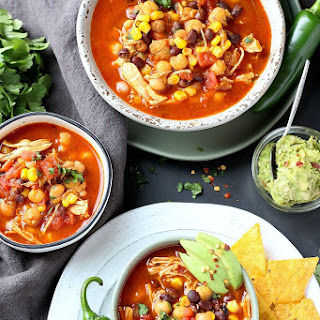 Instant Pot Mexican Chicken Soup.