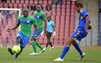 Photo: Alfred 'Zagalo' Sankoh [Leone Stars v Swaziland 18 May 2014 (Pic: Darren McKinstry)]