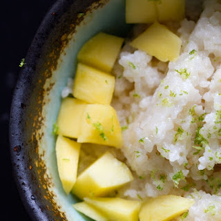 Easy Coconut Sweet Rice.