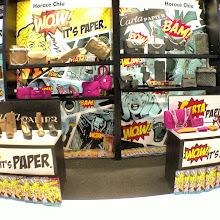 Photo: Fashion Accessories all made out of paper! at World Boutique (Booth 3F-C106)
