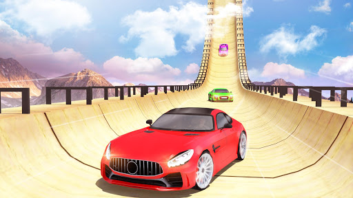 Mega Ramp Car Stunts Racing : Impossible Tracks 3D android2mod screenshots 12