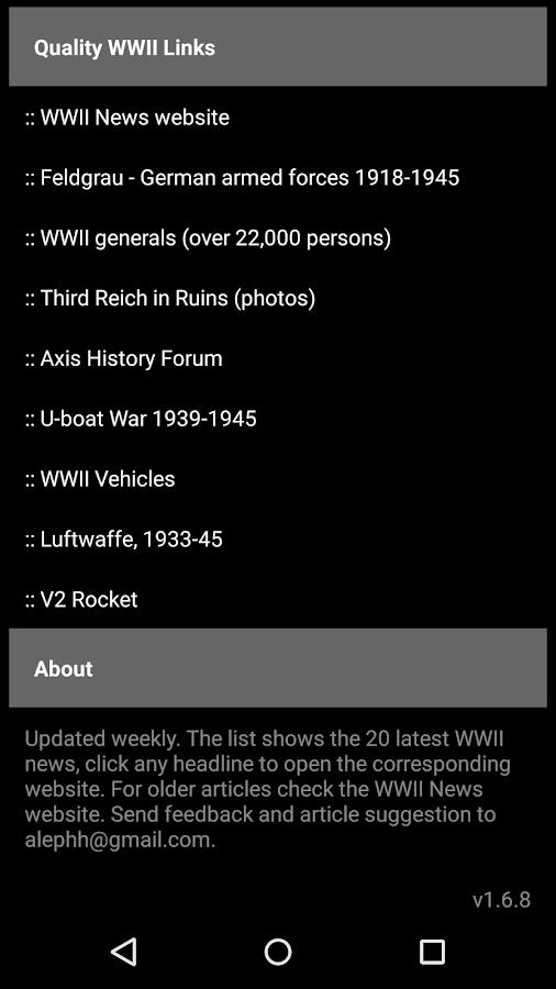 WWII News- screenshot