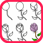 How To Draw Roses Android APK Download Free By Aakpstudio