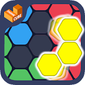 Hexa Block Ultimate - with spin! Logic Puzzle Game