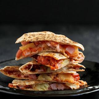 Hawaiian Pizza Quesadillas