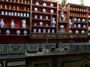 Photo: The pharmacy was founded in 1317.  It helped the public as well as the monks.  It is the third oldest pharmacy in the world.