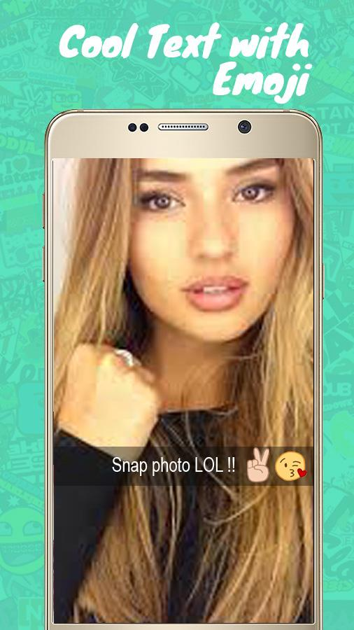 Funny Face For Social Apps- screenshot