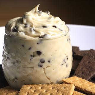Creamy Chocolate Chip Cheesecake Dip.