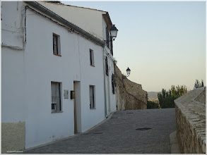 Photo: Calles del castillo. Almansa 