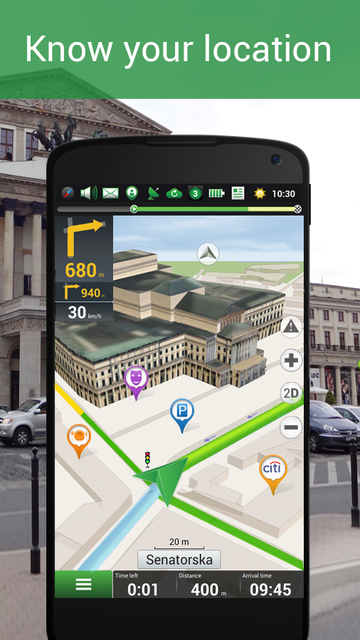 Navitel Navigator GPS & Maps- screenshot