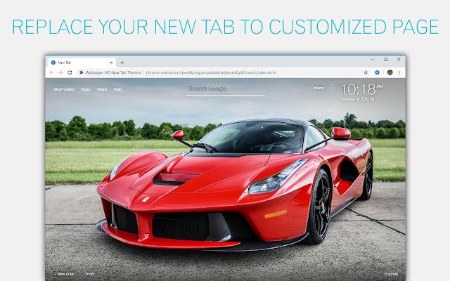 Ferrari Wallpapers Sports Cars Custom New Tab
