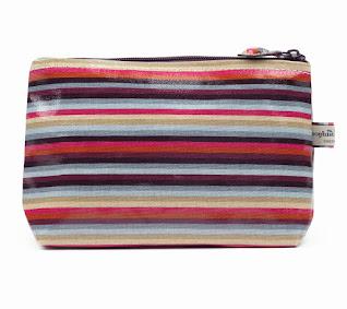 Stripe Classic Small Wash Bag