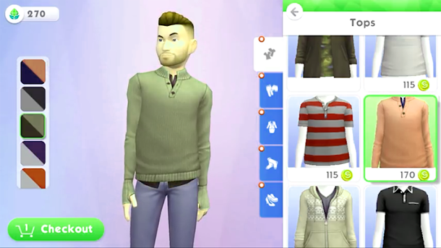 Guide for The sims mobile