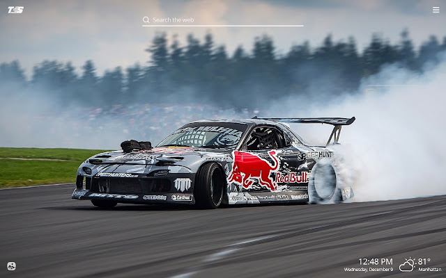 Drifting Cars Hd Wallpapers New Tab Theme