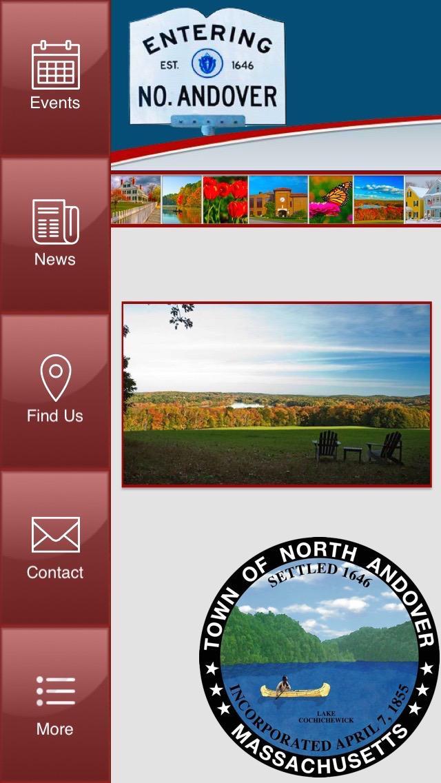 Скриншот Town of North Andover, MA
