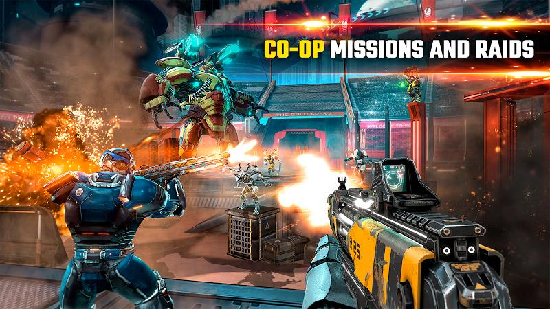 SHADOWGUN LEGENDS - FPS PvP and Coop Shooting Game Screenshot 5