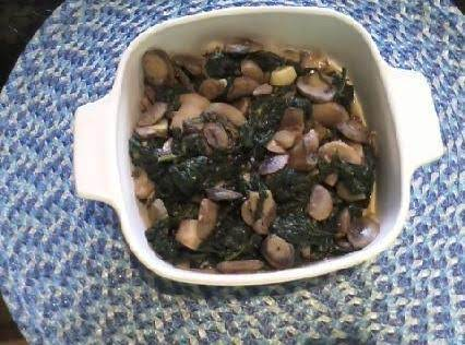 Sauteed Spinach And Mushrooms Recipe