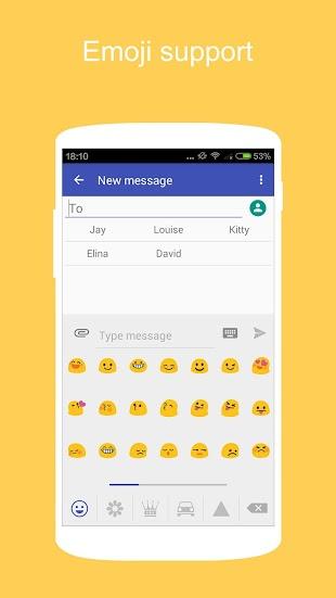 KK SMS - Cool, Powerful SMS- screenshot thumbnail