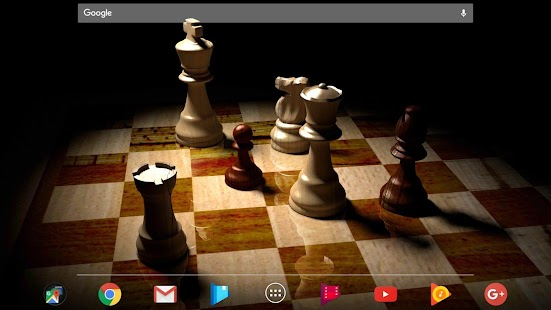 Chess Gyro 3D Parallax Live Wallpaper XLVersion Screenshot