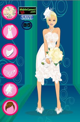 Fashion Girl Wedding Dress up