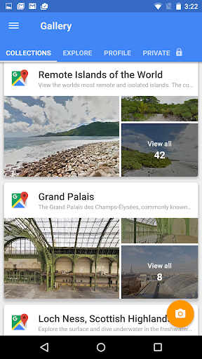 Google Street View Appar (APK) gratis nedladdning för Android/PC/Windows screenshot