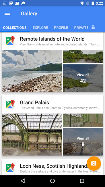 #2. Google Street View (Android)