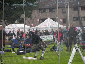 Photo: Big men in kilts, Inverness Highland Games