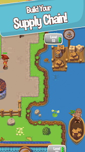 Idle Settlers MOD APK 1.8.9 [Unlimited Money] Medieval Trading 3