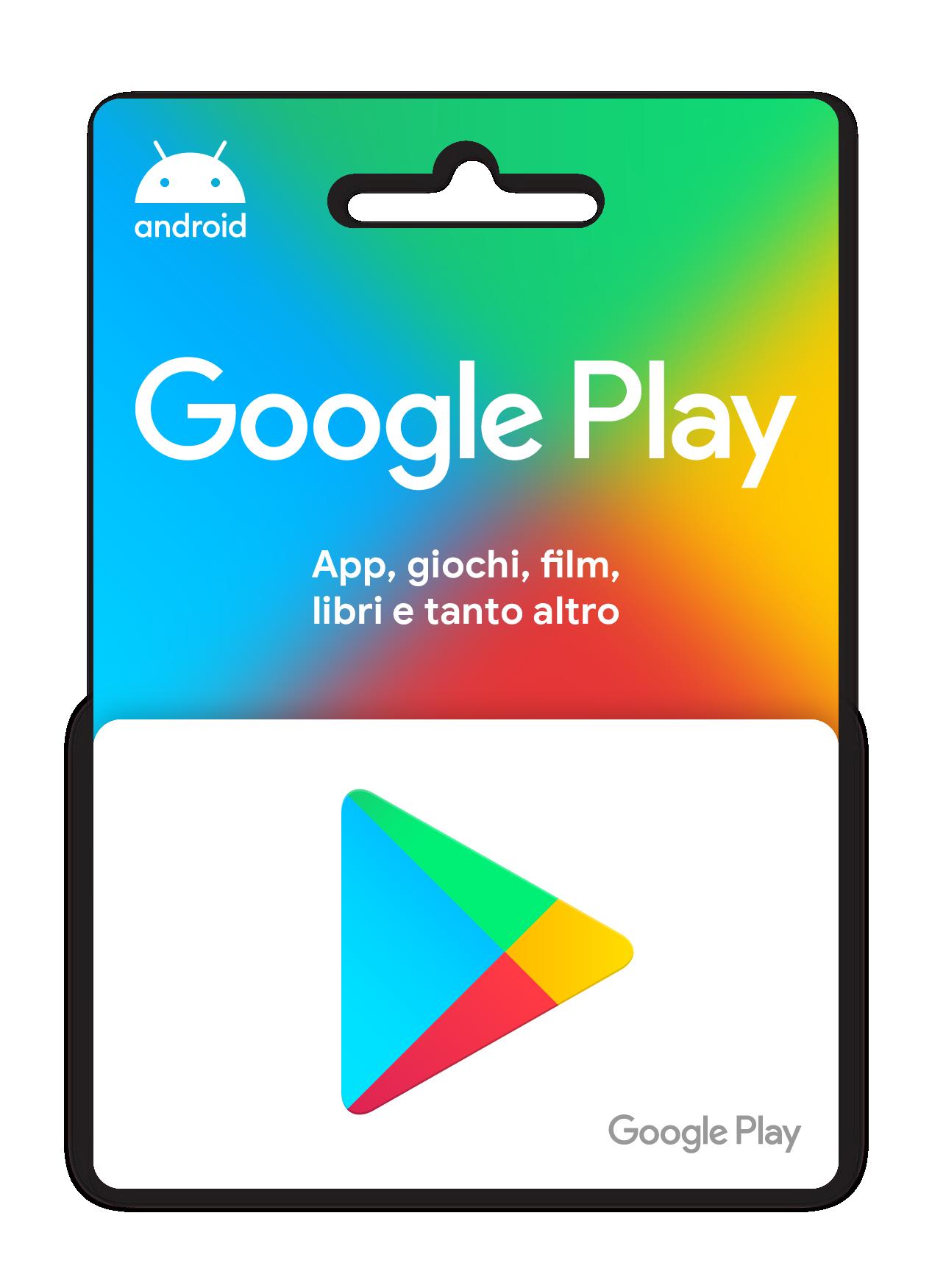 Carte regalo Google Play