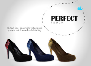Photo: Perfect your ensemble with classic pumps in intricate heel detailing  Available in Black, Navy, Walnut  Visit your nearest store to find out more.